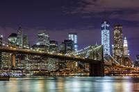 Recorrido nocturna en autobús por Nueva York