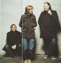 Geoff Barrow, Beth Gibbons and Adrian Utley from Portishead