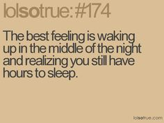 I love that feeling!