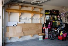 Lady Goats: Operation Organize Garage: What Wood You Do?
