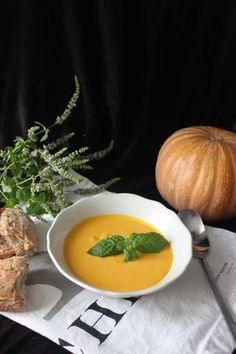 Dýňová polévka – Hokkaido