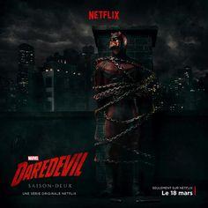Daredevil : le diable est enchainé sur l'affiche de la saison 2