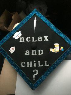 nursing graduation cap! nclex