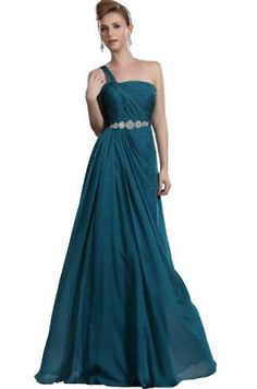 Amazon.com: eDressit On-Sale Fitted Single Strap Party Dress Prom Gown (00120205): Clothing