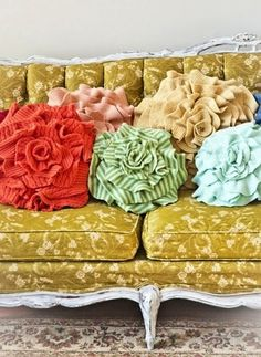 LOVE! upcycled sweater pillows  @Bridgette Seguin You should have a needleworks booth next year and include upcycled crafts. They are so pretty! And whatever you don't sell I can help you sell on Etsy!