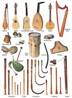 Medieval Instruments