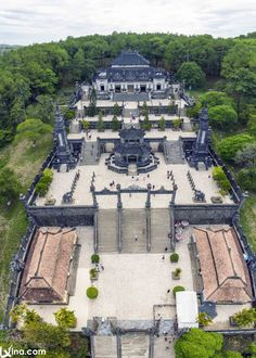View the Complex of Hue Monuments photos to discover the beautiful constructions and landscapes of this place in Vietnam. Vietnam Destinations, Travel Destinations, Vietnam Travel, Travel And Leisure, Heritage Site, Monuments, Hue, Traveling By Yourself, Travel Inspiration