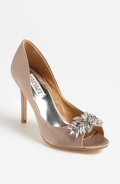 Add some bling to your feet: Badgley Mischka 'Buzz' pump at Nordstrom