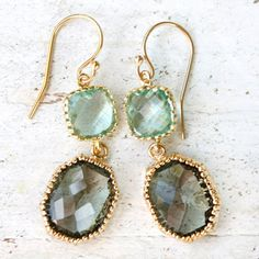 Love the storm gray and sea glass!