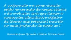 A cooperação e a comunicação