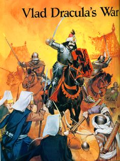 Romanian cavalry of Vlad charging jannissaries during the Wallachian wars. Military Art, Military History, Vlad The Impaler, Bram Stoker's Dracula, Ange Demon, Late Middle Ages, Ottoman Empire, Dark Ages, Medieval Fantasy
