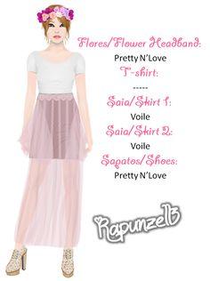O melhor do Stardoll - Looks: Rapunzell3
