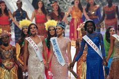 Anyway, yay she's Miss World 2013. Now she and all the other contestants have a sing-a-long.   Miss Philippines Wins Miss World 2013