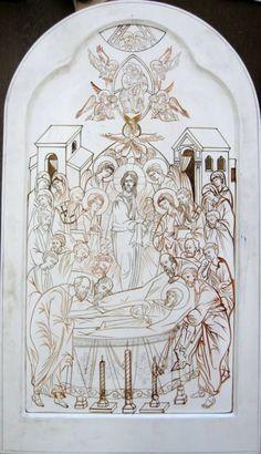 La dormición de la Virgen!