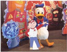 Flat Bob hits Disney World!  Help Flat Bob raise awareness of Long QT and other SADS conditions.  www.StopSADS.org/flat-bob