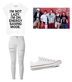 """""""Hanging With The Janoskians."""" by fivesos-always ❤ liked on Polyvore featuring Frame, Converse and Sessions"""