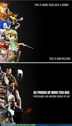 Feel Good About Being a Gamer