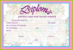 Diplomă Bullet Journal, 8 Martie, Blog, Manual, Textbook, Blogging