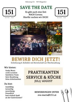WE WANT YOU! Klagenfurt, Save The Date, Want You, Location, Events, I Want You, Wedding Invitation