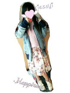 だいすきなNMB48の全国握手会に いったときの服装です🎀 * 渡辺美優紀ちゃんと白間美瑠ちゃんに