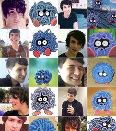 Dan's Hobbit Hair!!