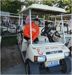 A golf cart is a great way to explore Put-in-Bay! You'll find cart rentals near the Miller Ferry Dock, Put-in-Bay