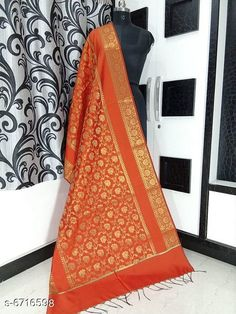 Dupattas Banarasi cotton silk dupatta Fabric: Banarasi Cotton Silk Pattern: Zari Work Multipack: 1 Sizes:Free Size (Length Size: 2.25 m)  Country of Origin: India Sizes Available: Free Size   Catalog Rating: ★4.2 (5673)  Catalog Name: Alluring Attractive Women Dupattas CatalogID_1070724 C74-SC1006 Code: 833-6716598-708