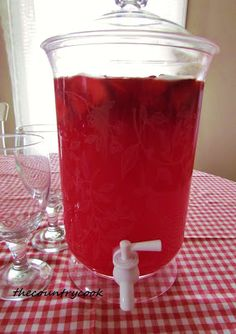 The Country Cook: Sparkling Strawberry Punch 1 can oz) frozen Strawberry Daiquiri concentrate (non alcoholic), thawed 1 pack of Strawberry Kool-Aid Ginger Ale (or strawberry sparkling water 1 bag of Frozen Sliced Strawberries (optional) Refreshing Drinks, Summer Drinks, Fun Drinks, Virgin Party Drinks, Party Drinks Alcohol, Frozen Strawberry Daiquiri, Frozen Strawberries, Strawberry Alcohol Drinks, Strawberry Punch Recipes