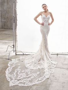 2678a0437c38 Nanette Front-ENZOANI 2019 Sweetheart Wedding Dress, Wedding Dress Low  Back, Amazing Wedding