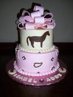 girly horse cake @Nicola Pearce hsu