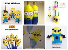 Despicable Me Minions Kids Crafts and Recipes