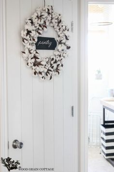 Plank Pantry Door by The Wood Grain Cottage