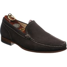 36169775f90 Herring Verona rubber-soled loafers in Brown Suede