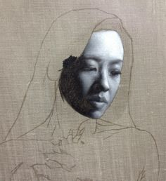 grisaille painting in progress… oil on canvas Portrait Sketches, Portrait Art, Painting People, Figure Painting, Oil Painting Basics, Hyperrealistic Art, Classical Art, White Art, Painting Techniques