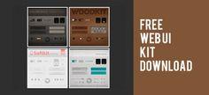 Free Web UI Design Kit Download – RepixDesign