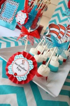Hostess with the Mostess® - Part 1: Dr. Seuss Thing 1 and Thing 2 Birthday Party