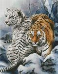 This counted cross stitch pattern was designed from the beautiful artwork of Kayomi Harai. Images Copyright 2006 Kayomi Harai. Kayomi's website can be found here http://members.aol.com/artycat/index.htm Represented exclusively by Applejack Art Partners.