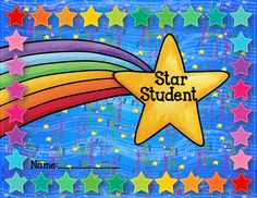 Star Student Punch Card by Copper Classroom Star Students, Preschool Graduation, Student Motivation, Free Math, In Kindergarten, Preschool Learning, Math Lessons, Math Centers, Teaching Resources