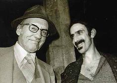 William Burroughs and Frank Zappa Mutal Admiration Society