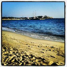 Παραλία Αγίας Άννας (Agia Anna Beach) στην πόλη Νάξος, Κυκλάδες