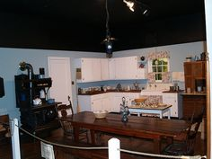 At the Walton's Mountain Museum, not exactly like the TV kitchen but similar.