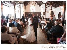Alicia + George | Image by Dajuan Jones / In His Image Photography. All Saints Chapel Raleigh, North Carolina