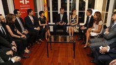 Don Felipe y Doña Letizia invitaron a una docena de destacados profesionales…