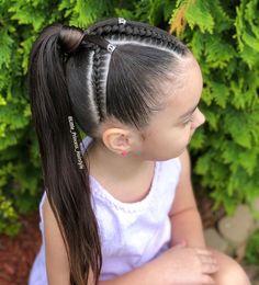 La imagen puede contener: una o varias personas, exterior y primer plano Baby Girl Hairstyles, Natural Hairstyles For Kids, Kids Braided Hairstyles, Princess Hairstyles, Natural Hair Styles, Long Hair Styles, Jasmine Hair, Girl Hair Dos, Toddler Hair