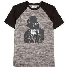 Boys 8-20 Star Wars Darth Vader Raglan Tee, Ovrfl Oth