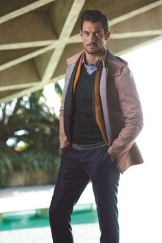 David Gandy for SELECTED spring 2014 ❤️