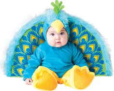 Precious Peacock Infant / Toddler Costume from BuyCostumes.com