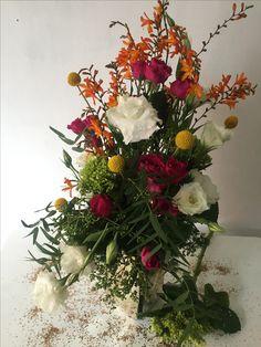 Arreglo floral (lisianthis, rosas, yocos...)