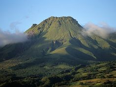 Mount Pelee, St. Pierre, Martinique - St Pierre was once the thriving capital until Mt Pelee wiped out the city in 10 minutes on May 8, 1902. The blast was 40x stronger than Hiroshima and of the 30,000 inhabitants, only 3 survived.