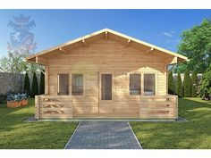 Log Cabins Residential Buildings and Garden Offices | Residential Log Cabin 308 - 5.5m x 9.5m - Residential Cabins | Somerset UK | Full Range Of Log Cabins